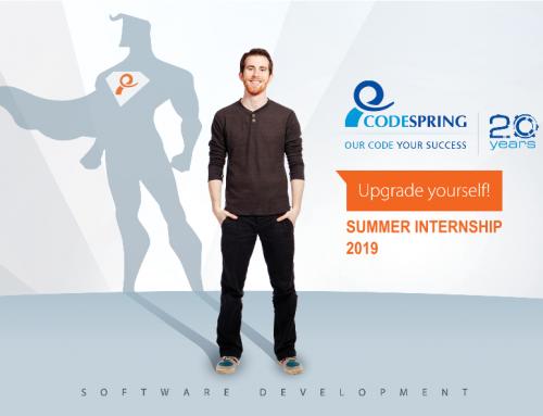 Codespringes nyári gyakorlat informatika szakos hallgatók számára