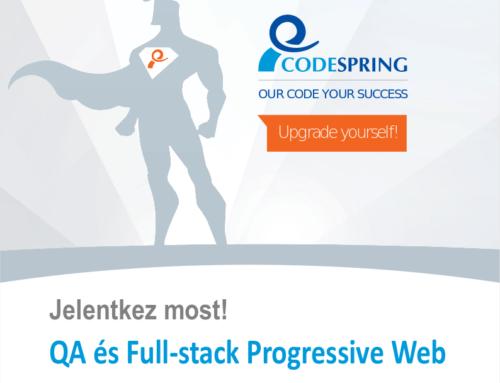 QA és Full-stack Progressive Web tréningek