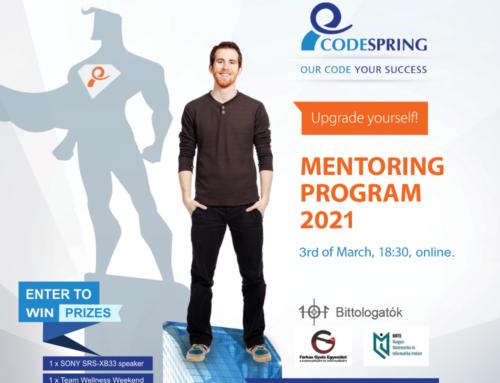 Idén is bemutatjuk a Codespring Mentorprogramot a Bittologatókon