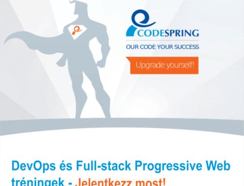 DevOps és Full-stack Progressive Web tréningek