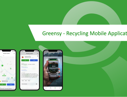 Greensy – Recycling Mobile Application